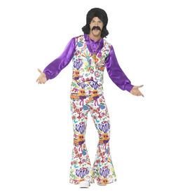 60s Groovy Hippie Suit Costume