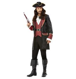 Deluxe Swashbuckler Pirate Costume