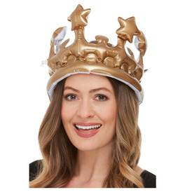 Inflatable Crown, Gold