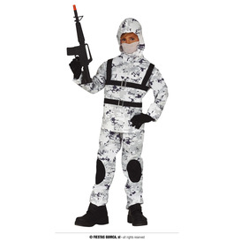 Arctic Soldier Costume