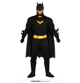 Mens Black Hero Costume