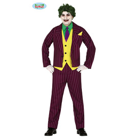 Crazy Villain Costume
