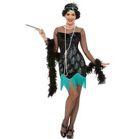 Smiffys 20s Peacock Flapper Costume