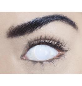 Mesmereyez Blind White Contact Lenses