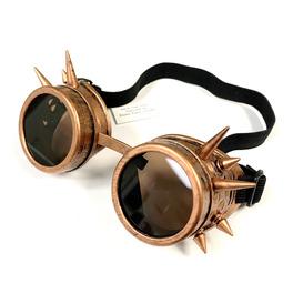 Steampunk Goggles, Bronze Spike
