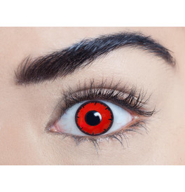 Mesmereyez Dead Red Contact Lenses