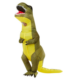 Inflatable T-Rex Costume, Green