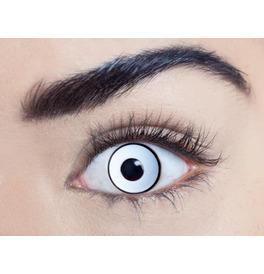 Mesmereyez Glass White UV Contact Lenses