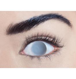 Mesmereyez Blind Grey Contact Lenses