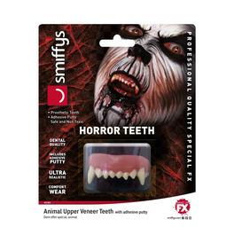 Horror Teeth, Animal, with Upper Veneer Teeth