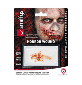 Horror Wound Transfer, Zombie Decay