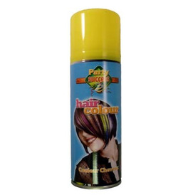Party Success Yellow Hair Spray 125ml