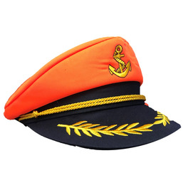 Captain Sailor Hat, Orange