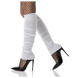 Leg Warmers, White