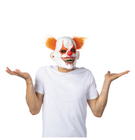 Hungry Clown Latex Mask