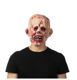 Bloody Zombie Latex Mask