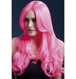 Fever Khloe Wig, Neon Pink