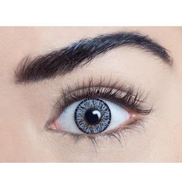 Mesmereyez Platinum Grey Contact Lenses