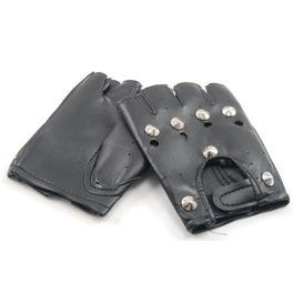 Fingerless Leather Faux Fingerless Gloves