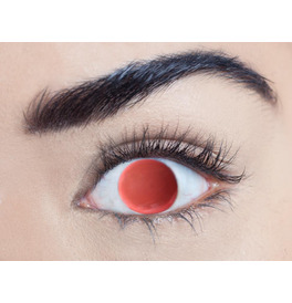 Mesmereyez Blind Red Contact Lenses