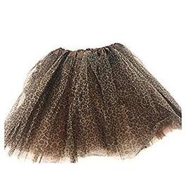 Stylex Party TUTU Skirt, Leopard Print