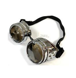 Steampunk Goggles, Silver