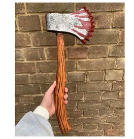 Zombie Axe Weapon, Realistic Foam