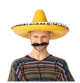 Mexican Sombrero Hat, Yellow