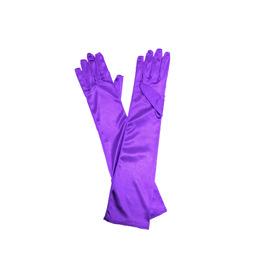 Long Gloves, Purple