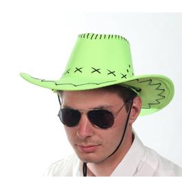 Cowboy Hat, Neon Green