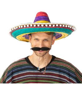 Mexican Sombrero Hat, Rainbow