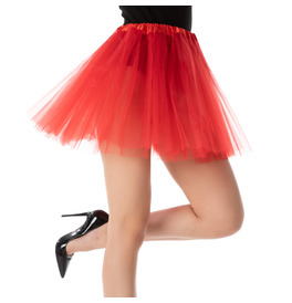 Stylex Party TUTU Skirt, Red