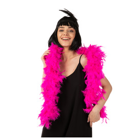 Stylex Party Feather Boa, Pink