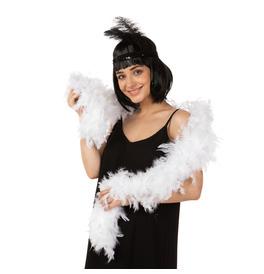 Stylex Party Feather Boa, White