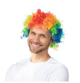 Afro Wig, Rainbow