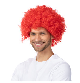 Afro Wig, Red