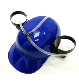 Drinking Beer Hat, Blue