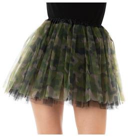 Stylex Party TUTU Skirt, Camouflage Army