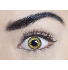 Mesmereyez Golden Vampire Contact Lenses