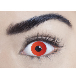 Mesmereyez Mini Sclera Red Contact Lenses