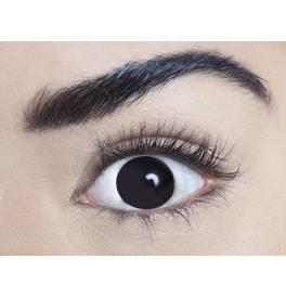 Mesmereyez Sclera Black Contact Lenses