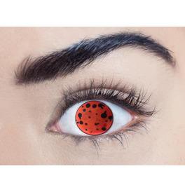 Mesmereyez Blind Virus Contact Lenses