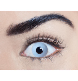 Mesmereyez Zombie Grey Contact Lenses