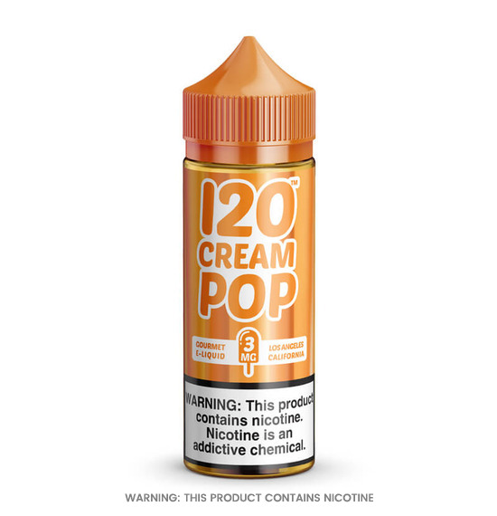 Cream Pop 100ml E-Liquid by Mad Hatter