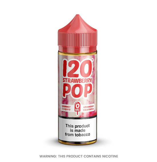 Cream Strawberry Pop 100ml E-Liquid by Mad Hatter