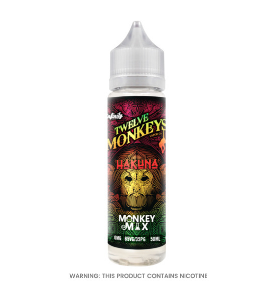 Twelve Monkeys Hakuna E-Liquid 50ml