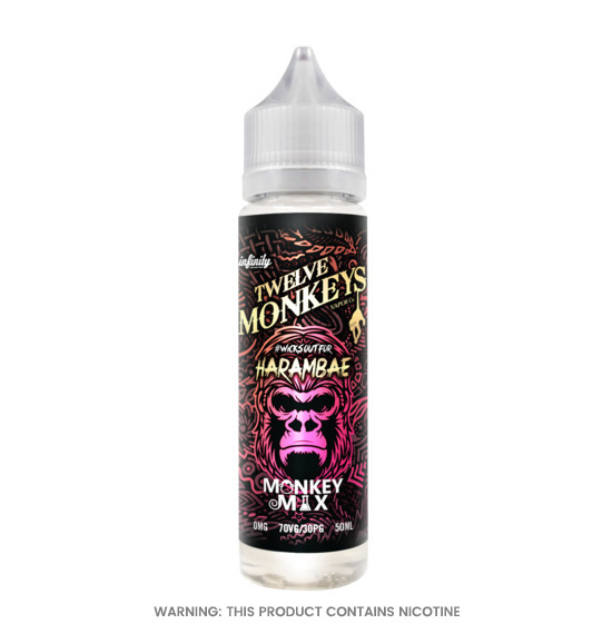Harambae 50ml E-Liquid by Twelve Monkeys