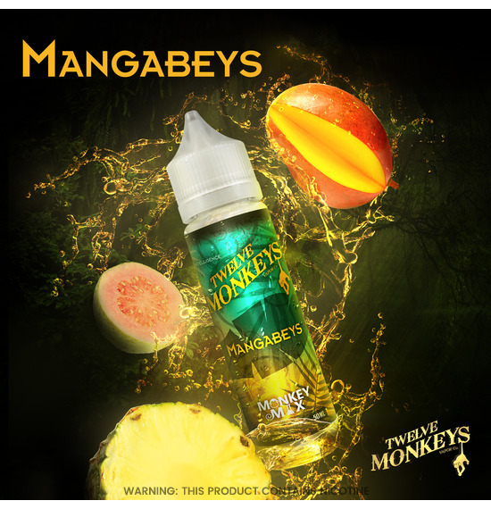 Twelve Monkeys Mangabeys E-Liquid 50ml