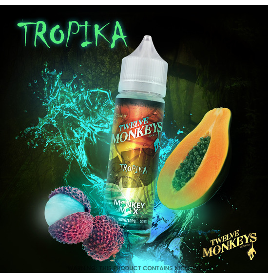 Twelve Monkeys Tropika E-Liquid 50ml