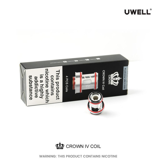 Crown 4 (IV) Replacement Coils by Uwell